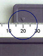 Autoclavable Bite Gauge.
